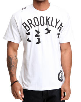 Buy Brooklyn Nets Corner Tee Men's Shirts from NBA, MLB, NFL Gear. Find NBA, MLB, NFL Gear fashions & more at DrJays.com