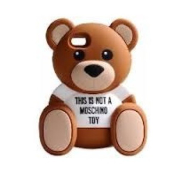 a8b65365d8 cover teddy bear moschino - Serafini Pizzeria