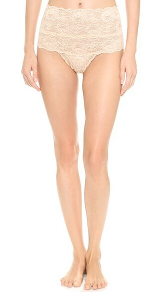 thong high blush underwear