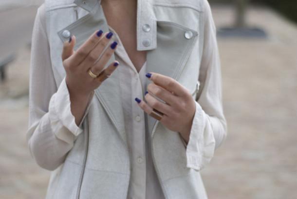 vest jacket jewels