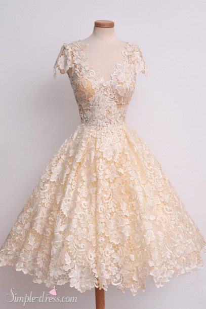 Dress: vintage prom dresses, 2016 prom dresses, short prom dress ...