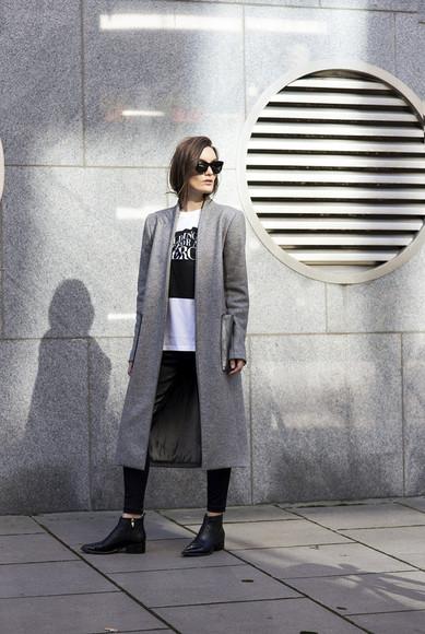 quote on it t-shirt blogger sunglasses anouska proetta brandon