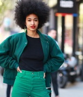 jacket,green,loose,jersey,forest green,coat,afrogirl