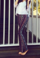 pants,free people,boho,flare
