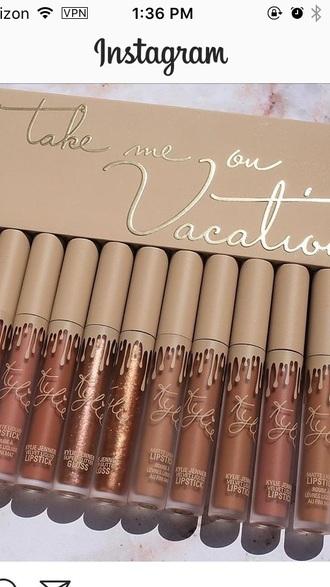 make-up kylie cosmetics
