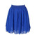 Chiffon Short Skirt - Royal Blue