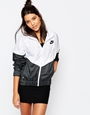 Nike Hooded Windbreaker Jacket With Colour Block at asos.com
