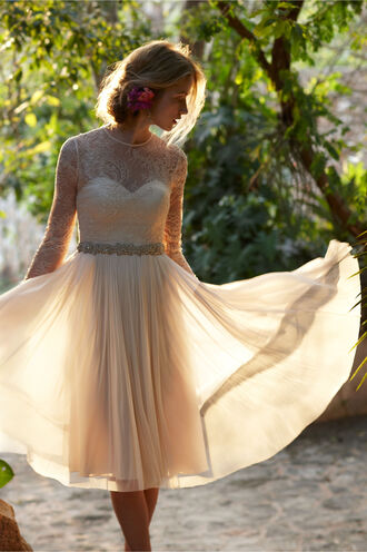 dress longsleeves shortweddingdresses