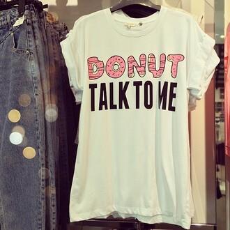 shirt clothes t-shirt donut