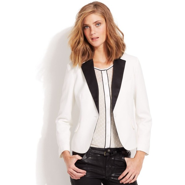 QMack Jacket, Tuxedo Blazer - Polyvore