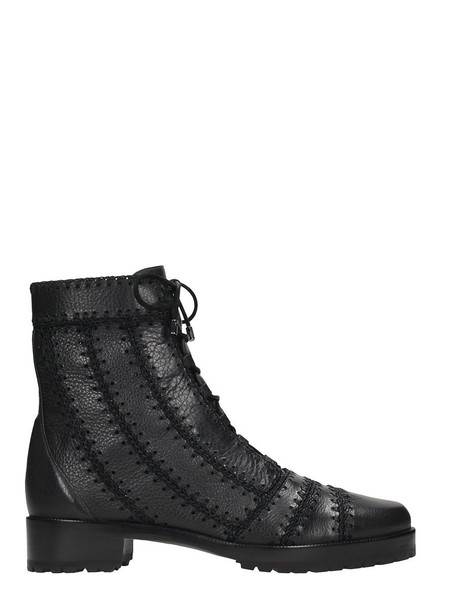 Alexandre Birman leather ankle boots ankle boots leather black black leather shoes