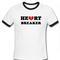 Heart breaker ringer tshirt