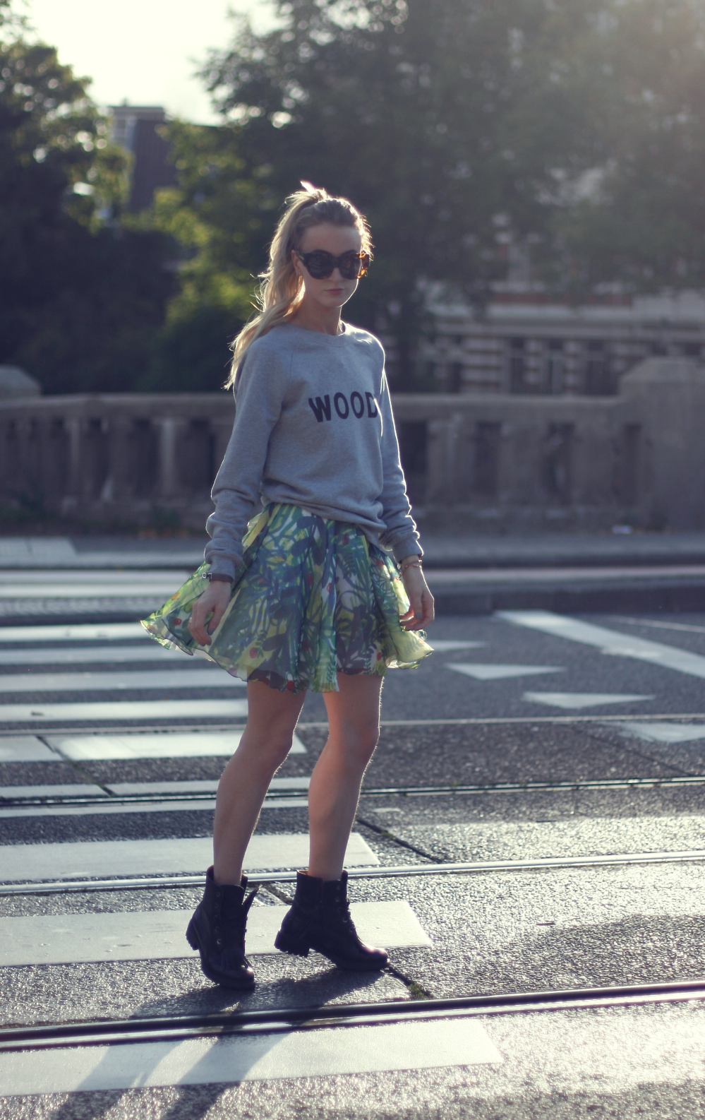 skirt zalando fashion blogger