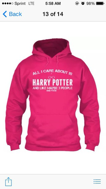 sweater harry potter sweatshirt