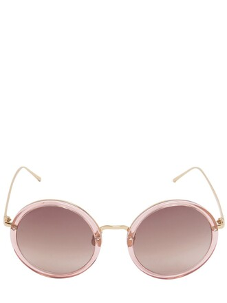 rose gold rose sunglasses round sunglasses gold