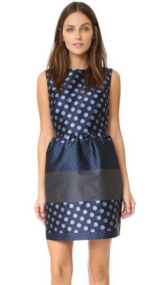 skirt sleeveless blue