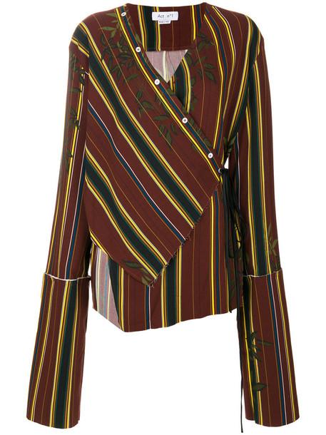 ACT N 1 blouse women spandex cotton top