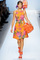 Sister stylista: blumarines orange floral dress as seen on gossip girl's blair waldorf