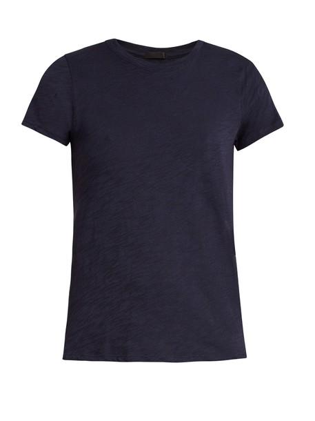 ATM t-shirt shirt t-shirt cotton navy top