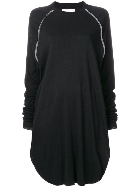 Nelly Johansson dress sweater dress women cotton black