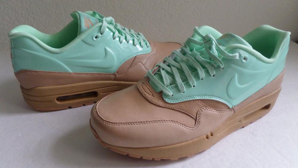 Nike Air Max 1 VT QS Women Shoe Vachetta Tan Arctic Green