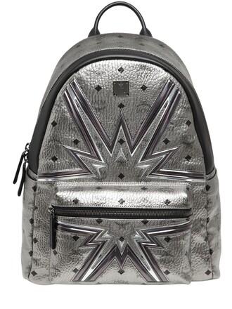 cyber backpack silver bag