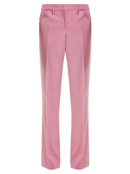 No. 21 wool light pink light pink pants