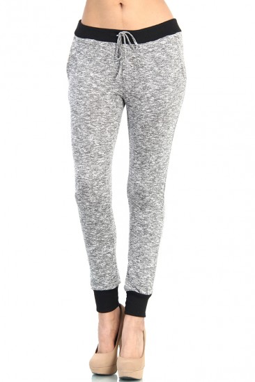 OMG Drawstring Sweatpants - Gray