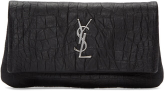 hollywood clutch black bag