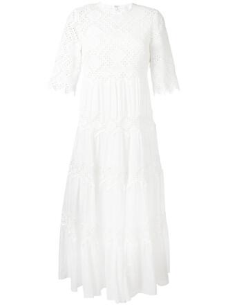 dress lace dress women spandex lace white cotton
