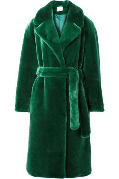 Tibi - Luxe oversized faux fur coat