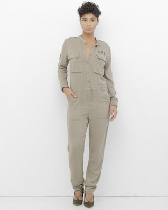 jumpsuit utility jumpsuit military jumpsuit olive green jumpsuit olive green olive jumpsuit military style