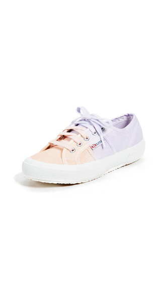classic sneakers lace peach lavender shoes