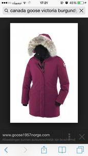 jacket,winter outfits,burgundy,berry,canada goose,woolrich,parka,winter coat,fur