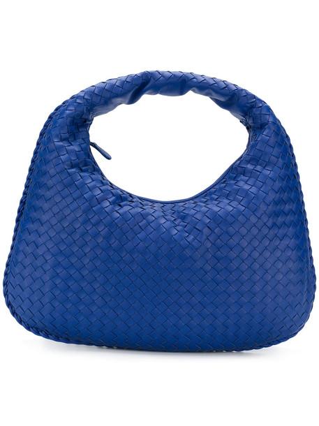 Bottega Veneta - Veneta handbag - women - Lamb Skin - One Size, Blue, Lamb Skin
