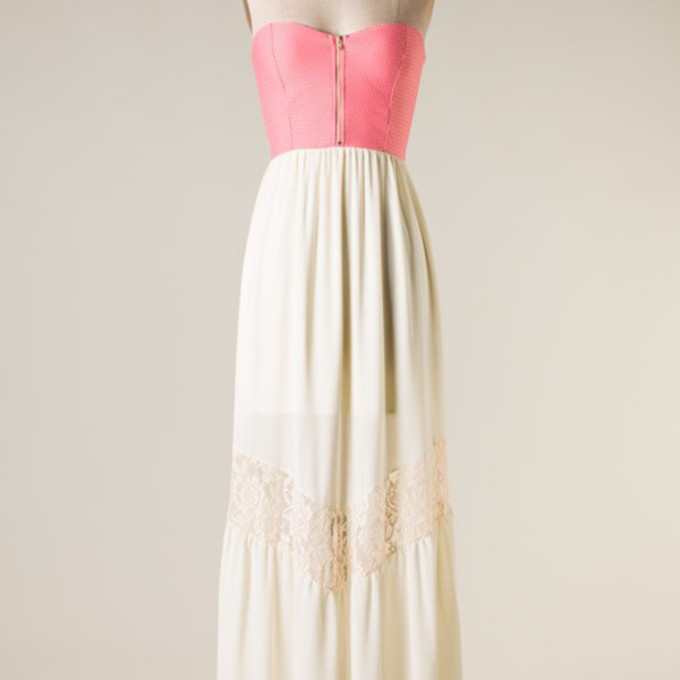 lace top white boho skirt clothes bohemian dress pink maxi blouse