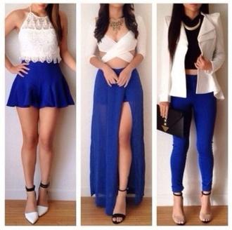 jacket blazer jeans blue skinny jeans white black bag top skirt cute love