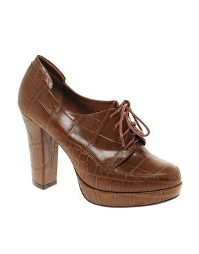 Chaussures ã lacets et talons larges chez asos