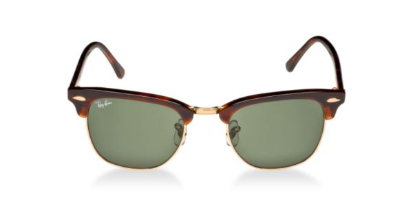 Check out Ray-Ban RB3016 49 CLUBMASTER sunglasses from Sunglass Hut http://www.sunglasshut.com/us/805289653660