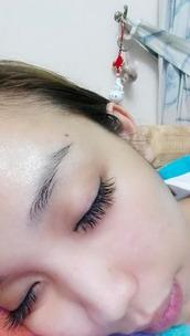 make-up,eyelashes