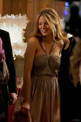 dress blake lively prom dress formal gossip girl