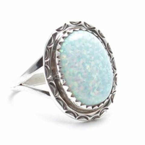 Midnight Moon Opal Ring | Child of Wild