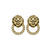 Lion Head Earrings (AS SEEN IN GRAZIA) - ✰ ☮ ✝ Dollface London Online Jewellery Boutique ✝ ☮ ✰