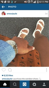 shoes,all white sandals,birkenstock?,cheetah print straps,white,flatforms,sandals,dress,kylie jenner,bodycon,cute,fashion