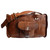 Small Leather Travelling Duffle