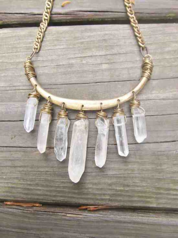 jewels crystal necklace glamour