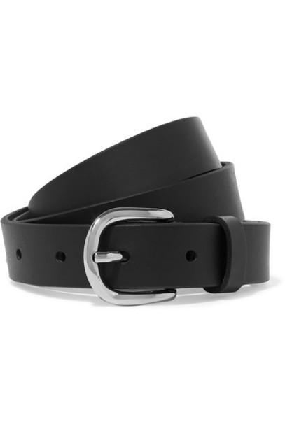 Etoile Isabel Marant belt leather black