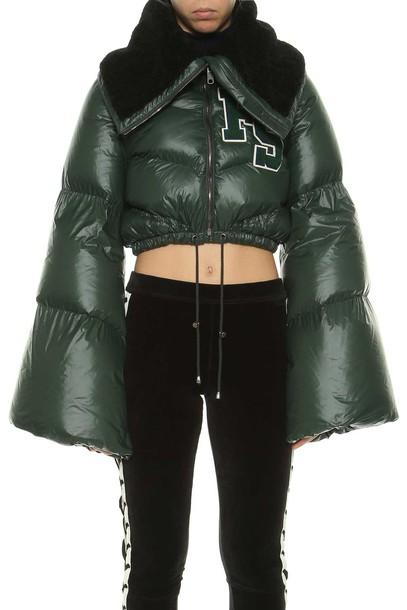 FENTY PUMA by Rihanna jacket down jacket cropped