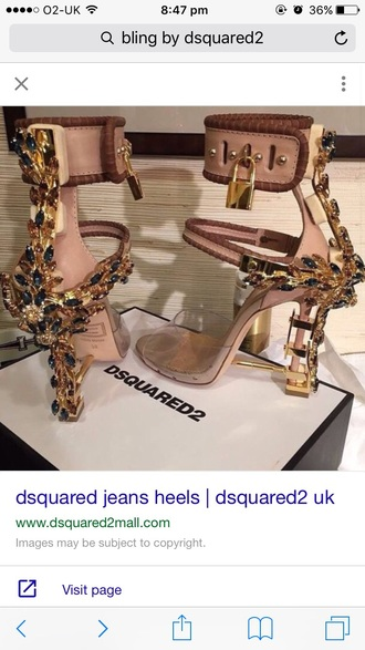 shoes rihanna dsquared