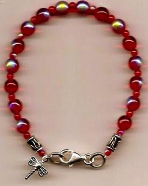 jewels red bracelets